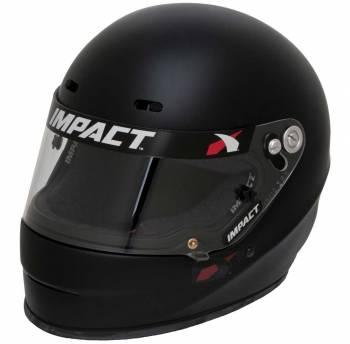 Impact Racing - Impact Racing 1320 No Air, Large, Flat Black - Image 1