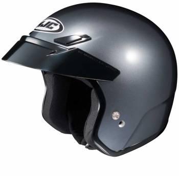 HJC Helmets - HJC CS-5N Open Face Helmet Anthracite Medium - Image 1
