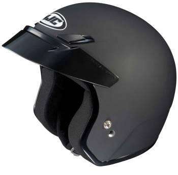 HJC Helmets - HJC CS-5N Open Face Helmet Matte Black Medium - Image 1