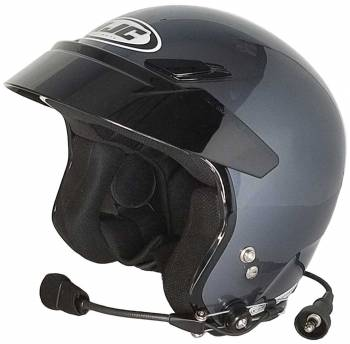 HJC Helmets - HJC CS-5N Open Face Helmet Anthracite X Small Wired - Image 1