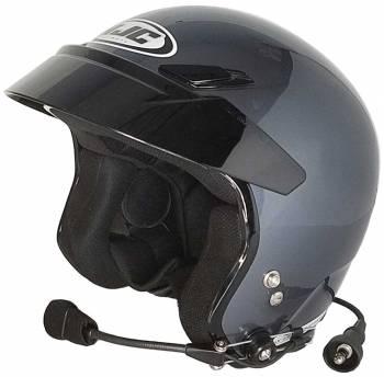 HJC Helmets - HJC CS-5N Open Face Helmet Anthracite Medium Wired - Image 1