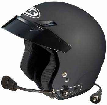 HJC Helmets - HJC CS-5N Open Face Helmet Matte Black X Small Wired - Image 1