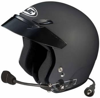 HJC Helmets - HJC CS-5N Open Face Helmet Matte Black Large Wired - Image 1