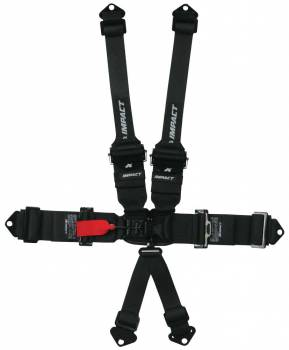 "Impact Racing - Impact Racer Series 3"" x 3"" Into 2"" Transition Latch & Link Restraints 6 Point Pull-Down Lap - Image 1"
