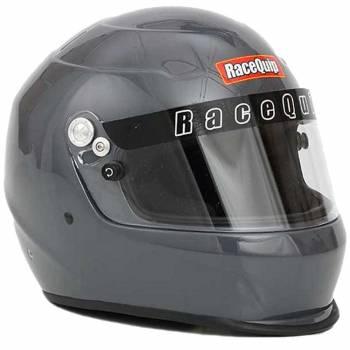 RaceQuip - RaceQuip Pro15 Helmet, Gloss Steel, Small - Image 1