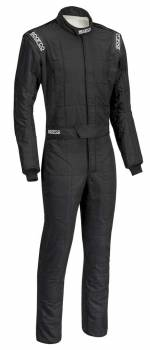 Sparco Closeout  - Sparco Conquest Racing Suit Black Boot Cuff 64 - Image 1