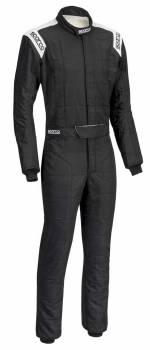 Sparco - Sparco Conquest Racing Suit Black/White Regular Cuff 54