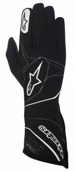Alpinestars - Alpinestars Tech 1-KX Karting Gloves Black/White Medium - Image 1
