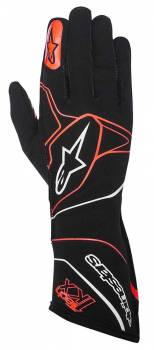 Alpinestars - Alpinestars Tech 1-KX Karting Gloves Black/Red XX Large - Image 1