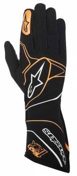 Alpinestars - Alpinestars Tech 1-KX Karting Gloves Black/Orange Fluo Small - Image 1