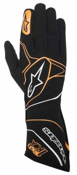 Alpinestars - Alpinestars Tech 1-KX Karting Gloves Black/Orange Fluo Large - Image 1