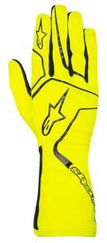 Alpinestars - Alpinestars Tech 1-K Race Karting Glove Yellow Fluo/Black X Large - Image 1
