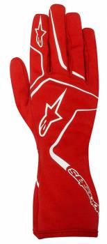 Alpinestars - Alpinestars Tech 1-K Race S Karting Glove Red Large - Image 1