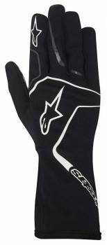 Alpinestars - Alpinestars Tech 1-K Race S Karting Glove Black/White Medium - Image 1