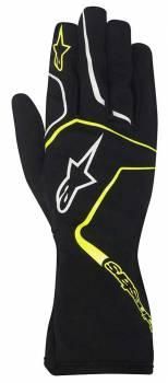 Alpinestars - Alpinestars Tech 1-K Race S Karting Glove Black/Yellow Fluo XX Large - Image 1