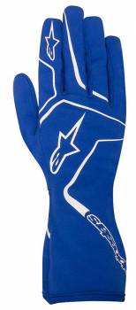 Alpinestars - Alpinestars Tech 1-K Race S Karting Glove Blue Small - Image 1