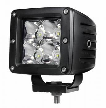 "Night Stalker Lighting - Night Stalker 3D High Energy 3"" Compact Driving Lights - 3"" x 3"" - Spot - Image 1"