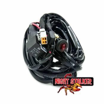 Night Stalker Lighting - Night Stalker Wiring Harness, LED Lightbars - Bars over 140 Watt - Image 1