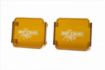 "Night Stalker Lighting - 3"" Cube Light Acrylic Cover - Amber - Image 1"