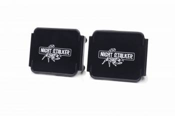 "Night Stalker Lighting - 3"" Cube Light Acrylic Cover - Black - Image 1"