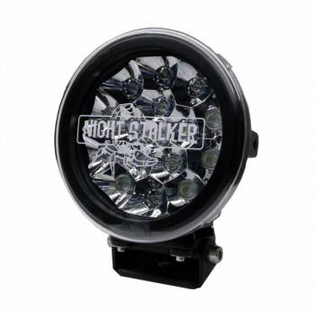 "Night Stalker Lighting - 7"" Round LED Light Cover - Clear - Image 1"