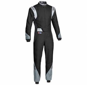 Sparco Closeout  - Sparco Eagle RS-8.2 Racing Suit Black/Grey 62 - Image 1