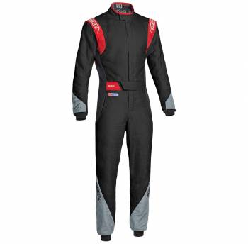 Sparco Closeout  - Sparco Eagle RS-8.2 Racing Suit Black/Red 66 - Image 1