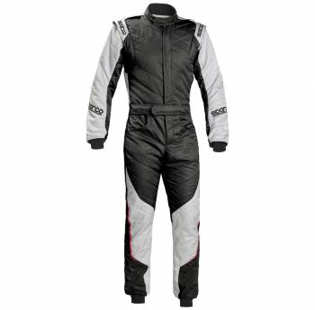 Sparco - Sparco Energy RS-5 Racing Suit Black/Silver 58 - Image 1