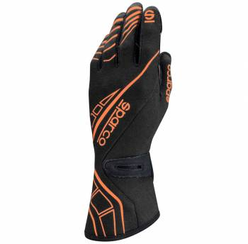 Sparco Closeout  - Sparco Lap RG-5 Racing Glove Medium Black/Orange - Image 1