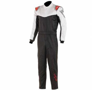 Alpinestars - Alpinestars Stratos Racing Suit 60 Black/White/Red - Image 1