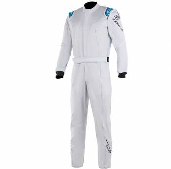 Alpinestars - Alpinestars Stratos Racing Suit 46 Silver/Blue - Image 1