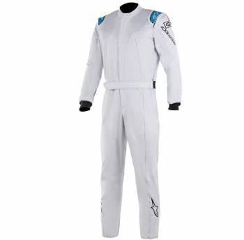 Alpinestars - Alpinestars Stratos Racing Suit 60 Silver/Blue - Image 1