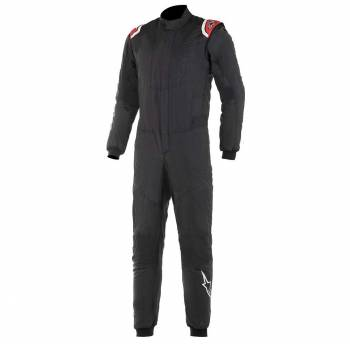 Closeout Alpinestars - Alpinestars Hypertech Racing Suit 50 Black/Red - Image 1