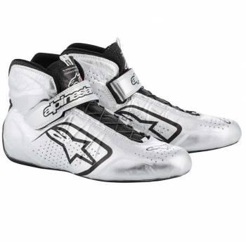 Alpinestars - Alpinestars Tech-1 Z Shoe 8 Silver/Black - Image 1