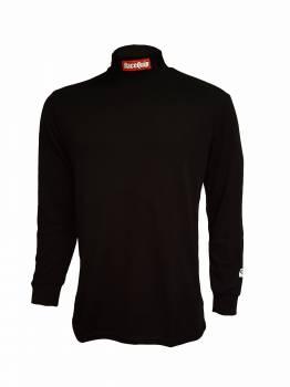RaceQuip - RaceQuip Fire Retardant Underwear Top LRG BLACK - Image 1