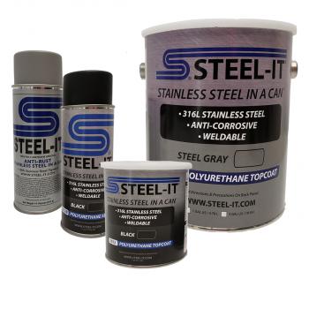 Steel-It - Steel-It Gallon Black - Image 1