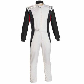 Sparco - Sparco Competition US Racing Suit 60 White/Black - Image 1