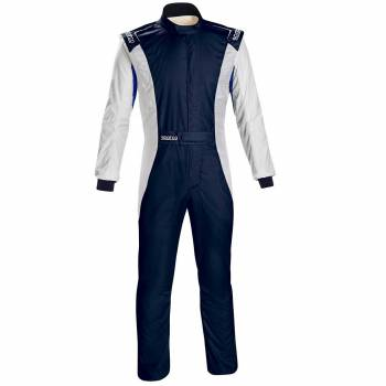 Sparco - Sparco Competition US Racing Suit 60 Navy/White - Image 1
