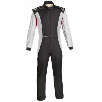 Sparco - Sparco Competition US Racing Suit 64 Black/White - Image 1