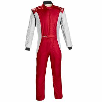 Sparco - Sparco Competition US Racing Suit 64 Red/White - Image 1