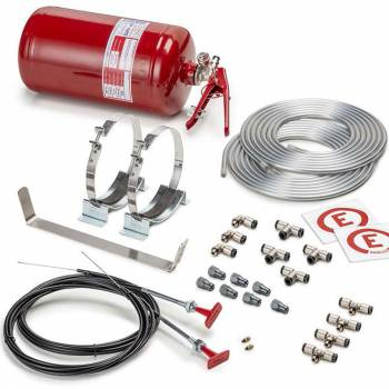 Sparco 10lb manual fire system