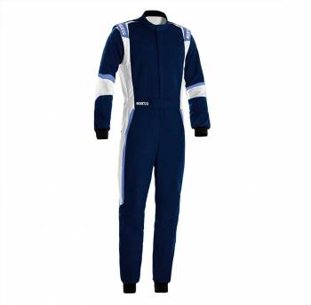 Sparco - Sparco X-Light Racing Suit 58 Blue/White - Image 1