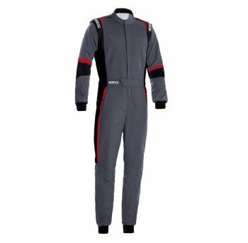 Sparco - Sparco X-Light Racing Suit 60 Grey/Black/Red - Image 1