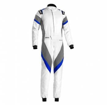 Sparco - Sparco Victory Racing Suit 58 White/Blue - Image 1