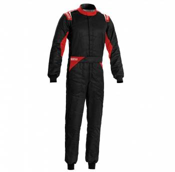 Sparco - Sparco Sprint Racing Suit 66 Black/Red - Image 1