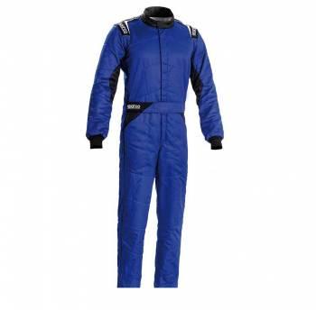 Sparco - Sparco Sprint Racing Suit Boot Cut 58 Blue/Black - Image 1