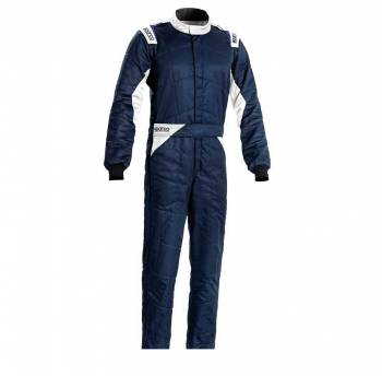 Sparco - Sparco Sprint Racing Suit Boot Cut 60 Navy/White - Image 1