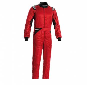 Sparco - Sparco Sprint Racing Suit Boot Cut 60 Red/Black - Image 1