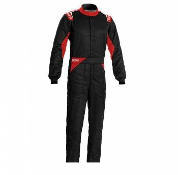 Sparco - Sparco Sprint Racing Suit Boot Cut 66 Black/Red - Image 1