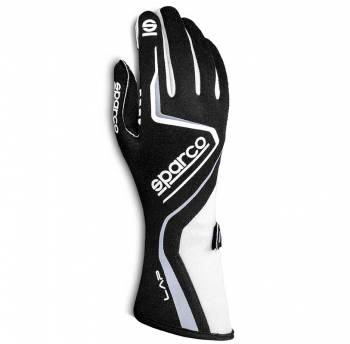Sparco - Sparco Lap Racing Glove XX Small Black/White - Image 1